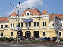 Oradea (Nagyvárad, Grosswawardein) - train station.JPG