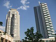 Orange Flower street skyscraper Ankara