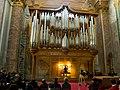 Organo di Santa Maria degli Angeli e dei Martiri - Roma - Concerto di Natale 2009 - 1.jpg