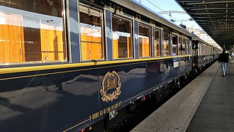 From Russia, with Love (novel) - The Orient Express, on which Bond travelled from Istanbul to Paris