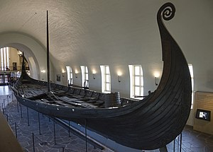 Oseberg Ship - The Oseberg ship (Viking Ship Museum, Norway)