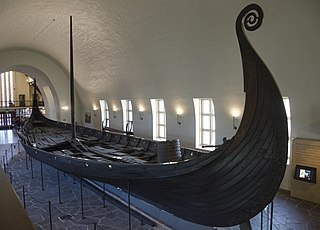 Oseberg Ship Preserved Viking ship