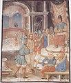 Oswalt Kreusel - Millstätter Fastentuch - Jesus vor Kaiphas und dem Hohen Rate.jpeg