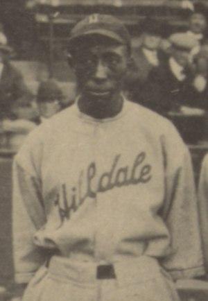 Otto Briggs - Briggs at the 1924 Colored World Series