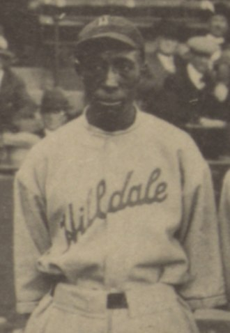 Otto Briggs - Briggs at the 1924 Colored World Series