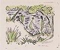Otto Mueller - Zwei Knaben im Wasser und ein Mädchen am Ufer - 1918.jpeg