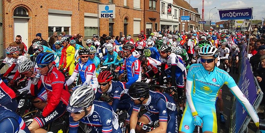 Oudenaarde - Ronde van Vlaanderen Beloften, 11 april 2015 (C18).JPG