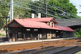 Overbrook station SEPTA Regional Rail station