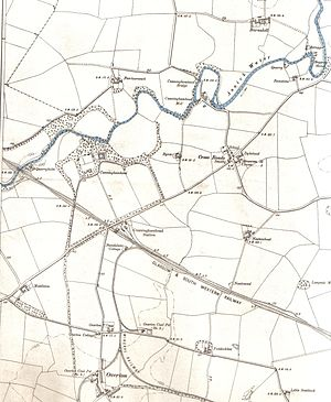 Cunninghamhead - A map of the area in 1897.