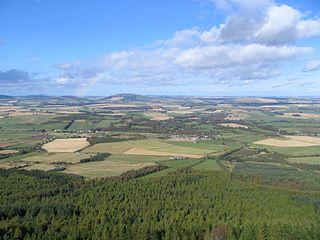 Oyne village in United Kingdom
