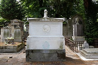 Sidney Smith (Royal Navy officer) - Grave of Sir Sidney Smith and his wife Caroline in the Père Lachaise cemetery, Paris