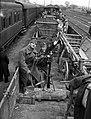 Pécs, 1941 pályaudvar. Fortepan 71474.jpg