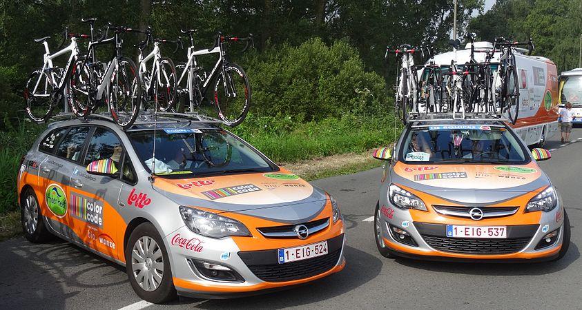 Péronnes-lez-Antoing (Antoing) - Tour de Wallonie, étape 2, 27 juillet 2014, départ (B32).JPG