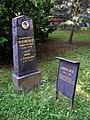 Písek, hřbitov u Trojice, hrob - Augustin Krejčí.jpg