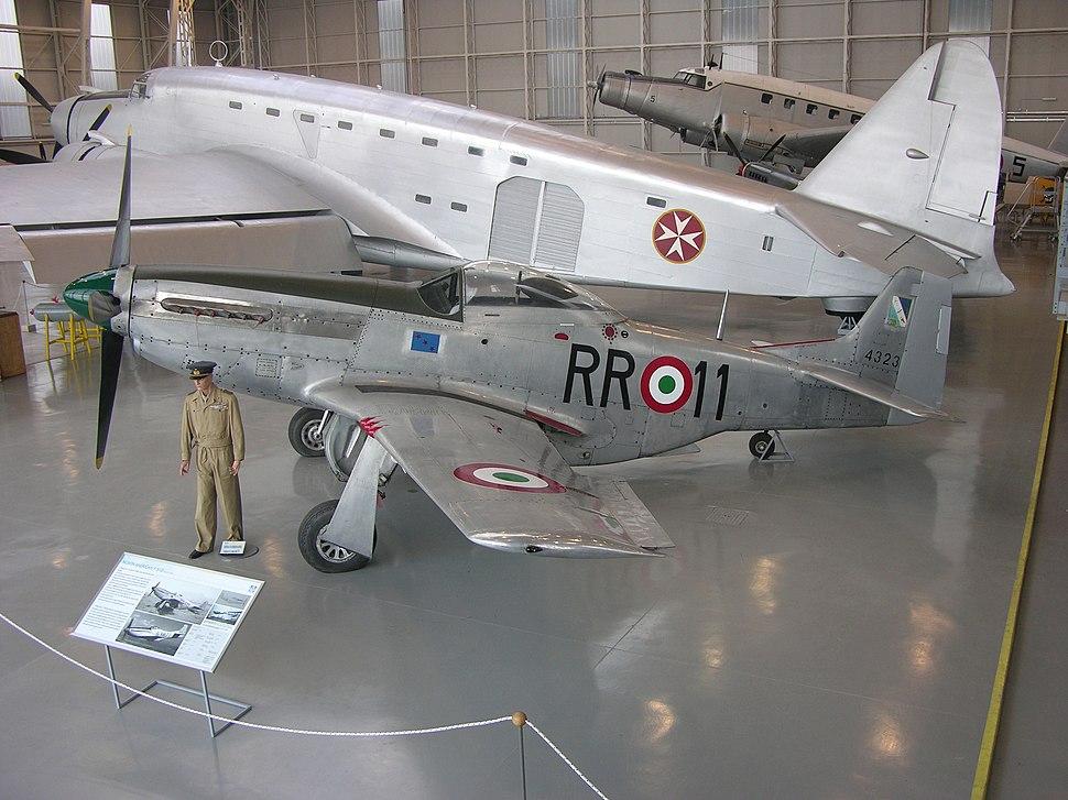 P-51D Mustang&SM.82 Marsupiale