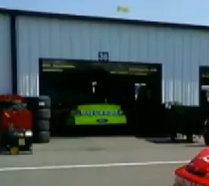 P. J. Jones - Jones' car prior to the 2007 Pocono race.