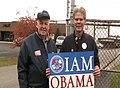 PA- AFL-CIO President John Sweeney Leaflets with IAM Local 1671 (2969789371).jpg