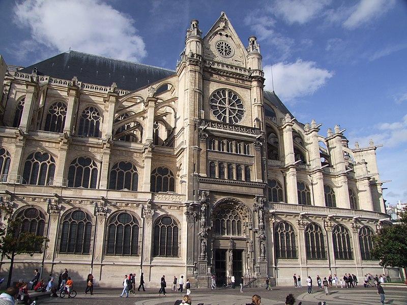 File:PA00085795 - Église Saint-Eustache (façade sud).jpg