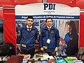 PDI Brigada Investigadora de Delitos de Propiedad Intelectual, stand en FILSA 20171103 fRF01.jpg