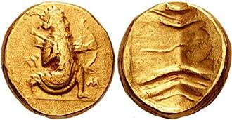 Persian daric - Image: PERSIA. Alexandrine Empire. Circa 322 315 BC. AV Double Daric (16.66 gm). Babylon mint