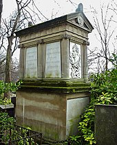 Boieldieus Grab auf dem Friedhof Père-Lachaise inParis. (Quelle: Wikimedia)