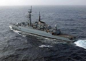 Pakistan Navy Frigate PNS Shahjahan