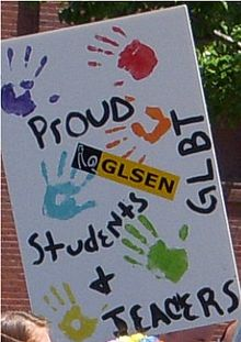 GLSEN is an organization for students, parents, and teachers that tries to affect positive change in schools.