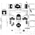 PSM V63 D574 Columbia university buildings and grounds plan.png