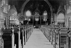 Packer Memorial Chapel - Image: Packer Memorial Church interior view 1896