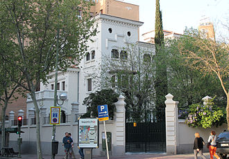 Pedro Poveda Castroverde - Palacete de José Goyanes Capdevila (Madrid), Headquarters of the Teresian Association