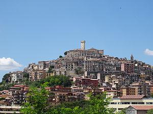 Palombara Sabina - View of Palombara Sabina