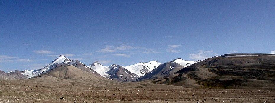 Панорама Памирских гор