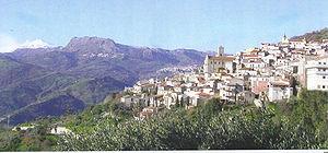 Casalvecchio Siculo - Image: Panorama Casalvecchio con Etna