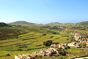 Gozo: Panorama of Gozo