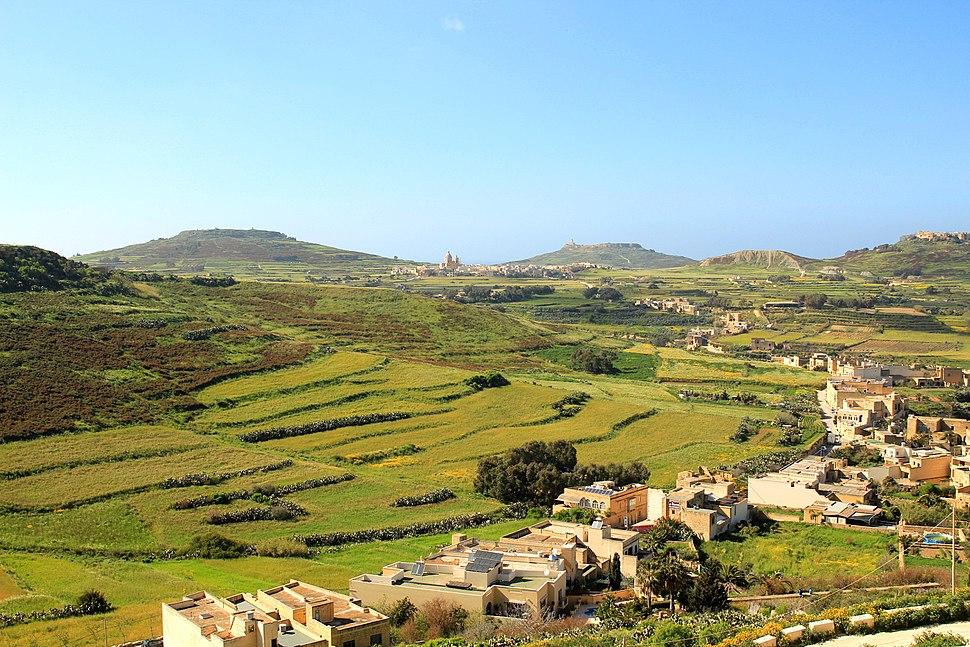 Panorama of Gozo