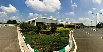 Vijayawada Airport - A Panorama of New Terminal
