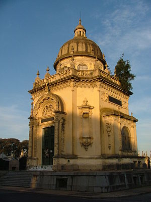 La Chacarita cemetery - Spanish-Argentine Mutual Society pantheon