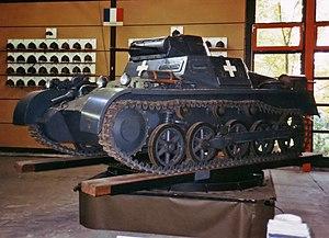German Tank Museum - Image: Panzerkampfwagen I Ausf. A
