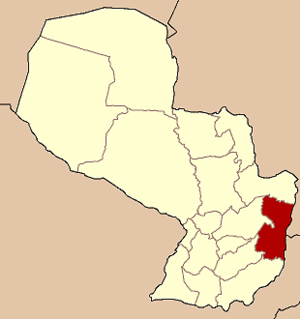 Colonia Yguazú - Image: Paraguay Alto Parana