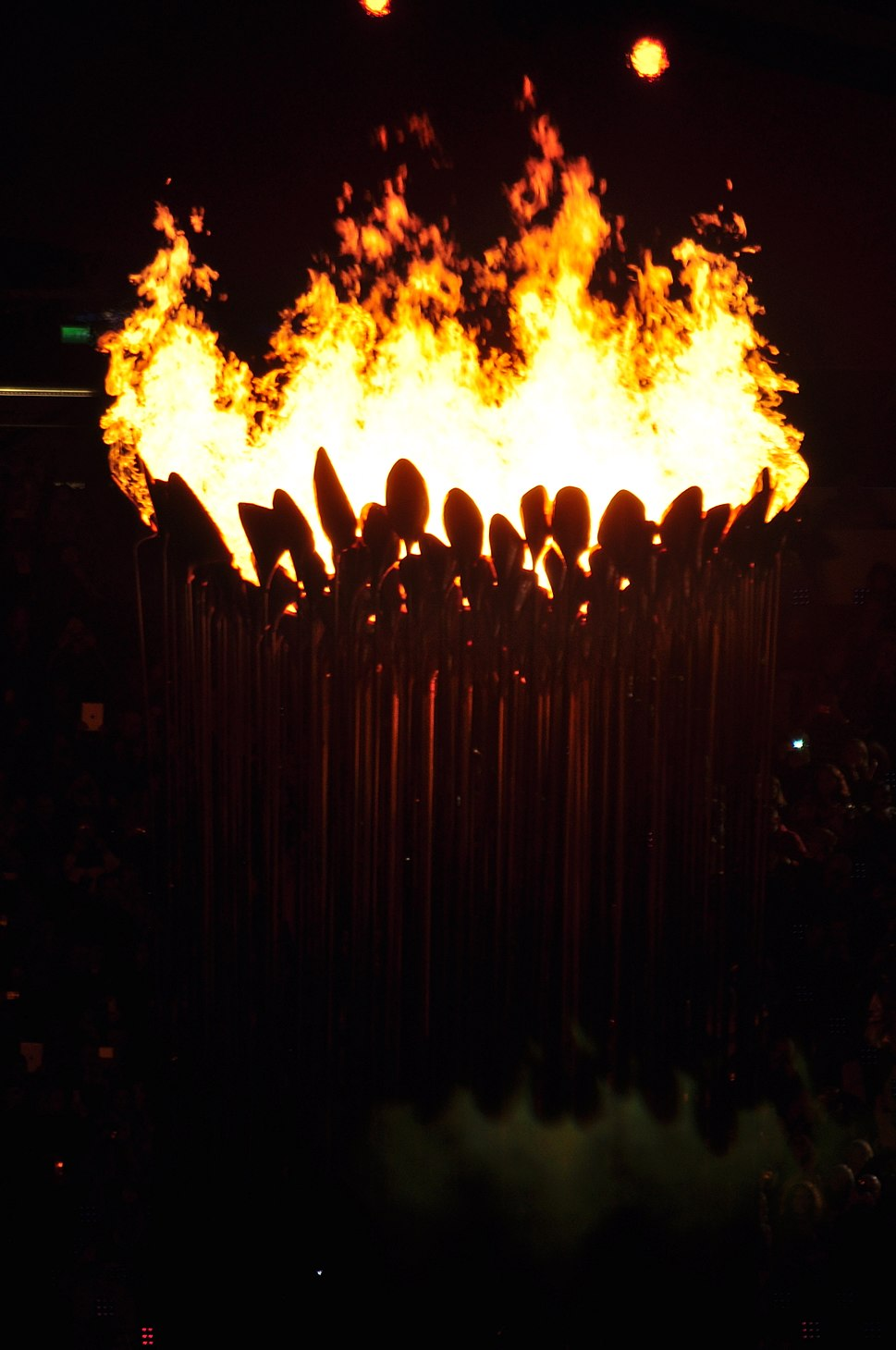 Paralympic flames