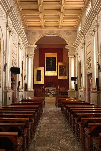 Mixcoac - Image: Parroquia de Santo Domingo de Guzmán, interior