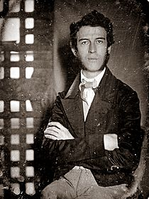 Passmore Williamson in Moyamensing Prison, Philadelphia, 1855.jpg