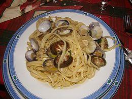 Spaghetti alle vongole wikipedia for Vongole veraci wikipedia