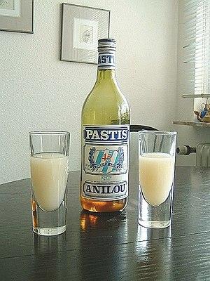 Pastis - French pastis