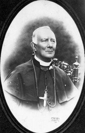Patrick Francis Moran - Portrait of Cardinal Moran, taken in Brisbane, Queensland circa 1900
