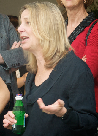 """Paula Scher - Paula Scher in """"Take a Closer Look"""" speaker event at the GDMA Degree Show in 2010"""