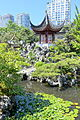 Pavilion with pond - Dr. Sun Yat-Sen Classical Chinese Garden - Vancouver, Canada - DSC09895.JPG