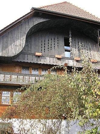 Kirchdorf, Bern - The Lehnerhaus farmhouse in Kirchdorf