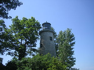 Pelee, Ontario - Almost abandoned light house at Pelee Island