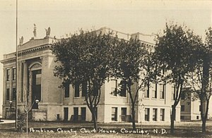 Pembina County Courthouse before 1920